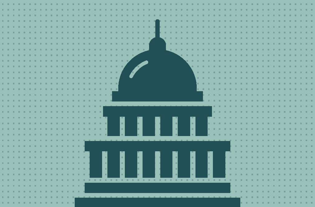 Graphic Icon of the Capitol