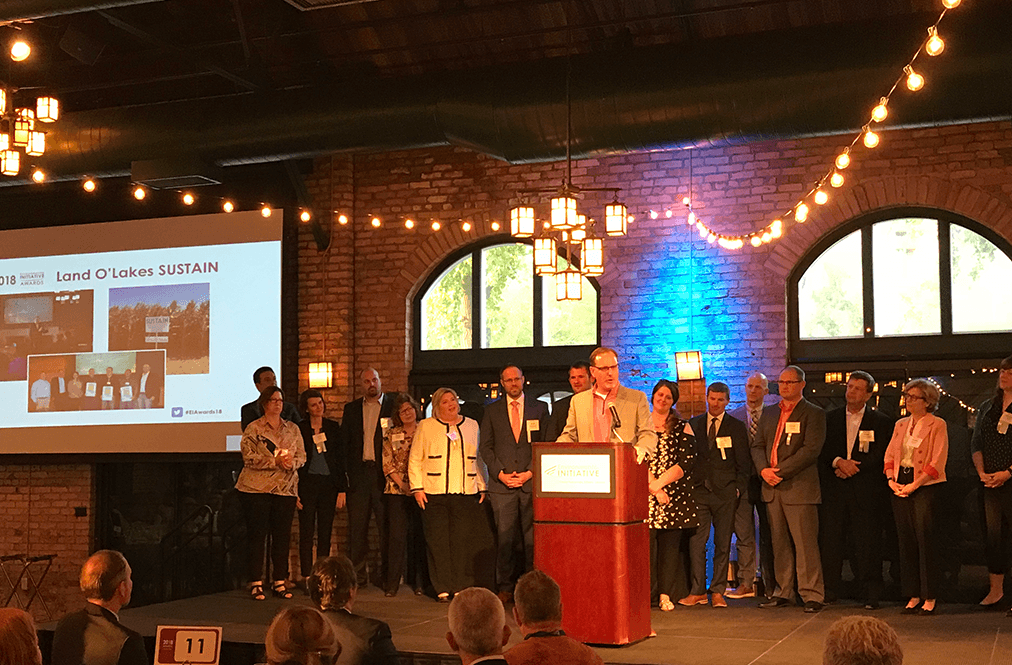 Land O'Lakes Sustain, project partners win 2018 Environmental Initiative Award for sustainable business leadership