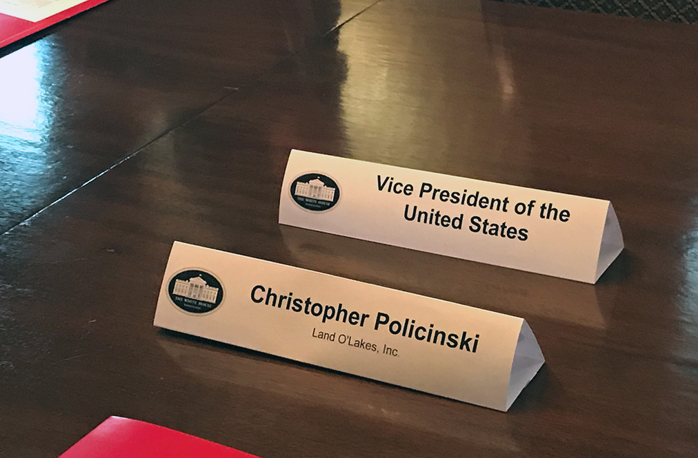White House Table Tents