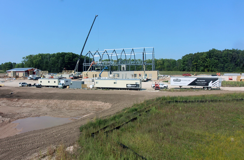 Wisconsin Ag Education Center Construction Site