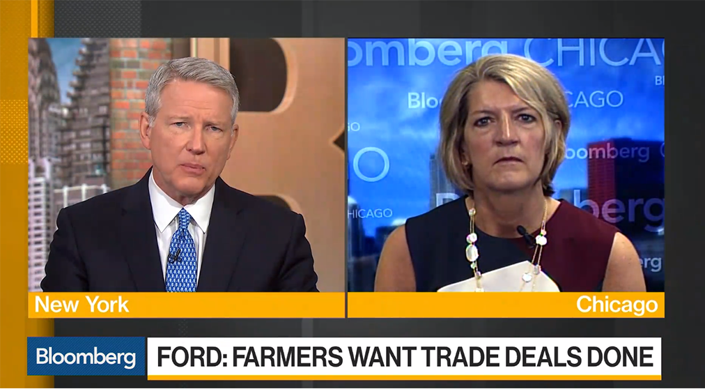 CEO Beth Ford On Bloomberg