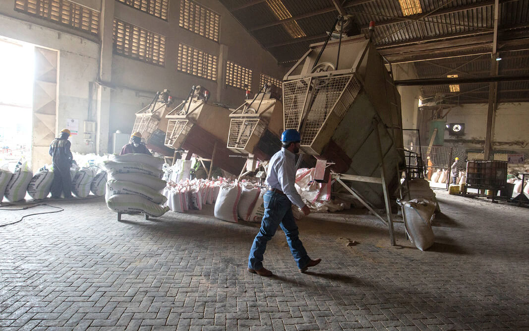 A Bidco Land O'Lakes Animal Feed Facility