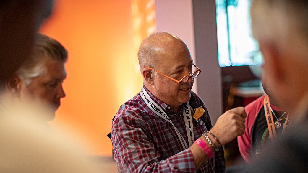 Andrew Zimmern At The Copernicus Project
